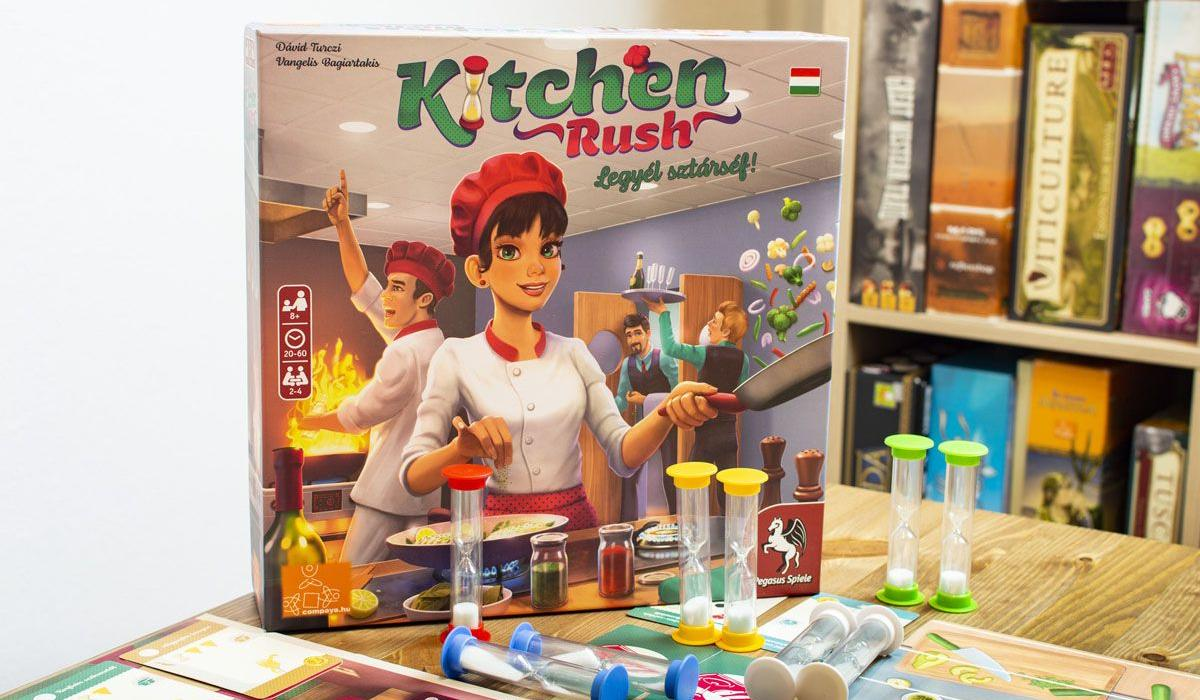 Kitchen Rush – gyors recept 4 főre