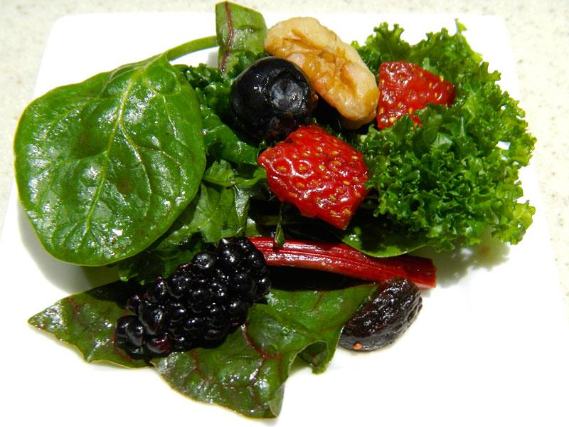 Berry Delish Salad Serving