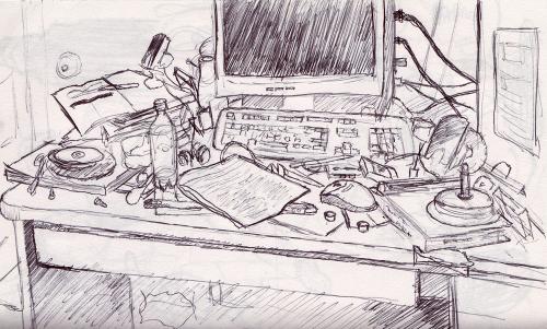 Desk Sketch