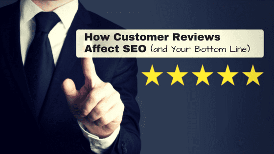 Blog post: How customer reviews affect SEO