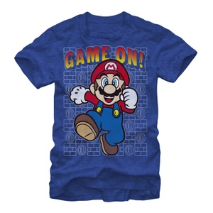 Mario Game On - T Shirt