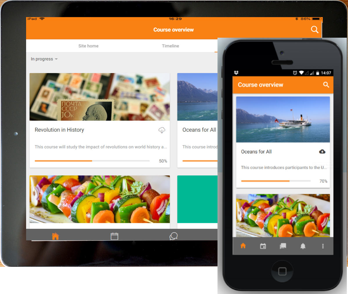 Moodle official mobile app