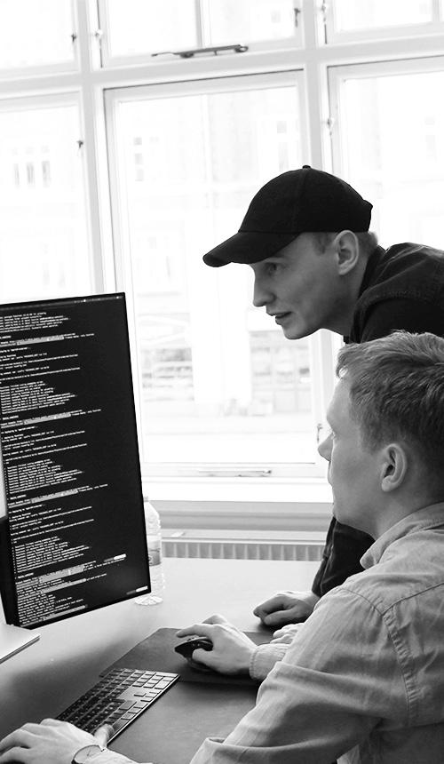 Daniel Skov Jacobsen og Andreas Søgaard Pedersen