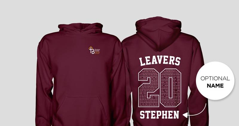 Thomas Becket Catholic School Leavers Hoodies 2020