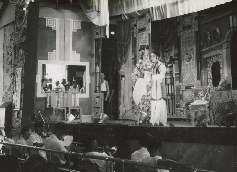Chinese Opera in New World, 1955