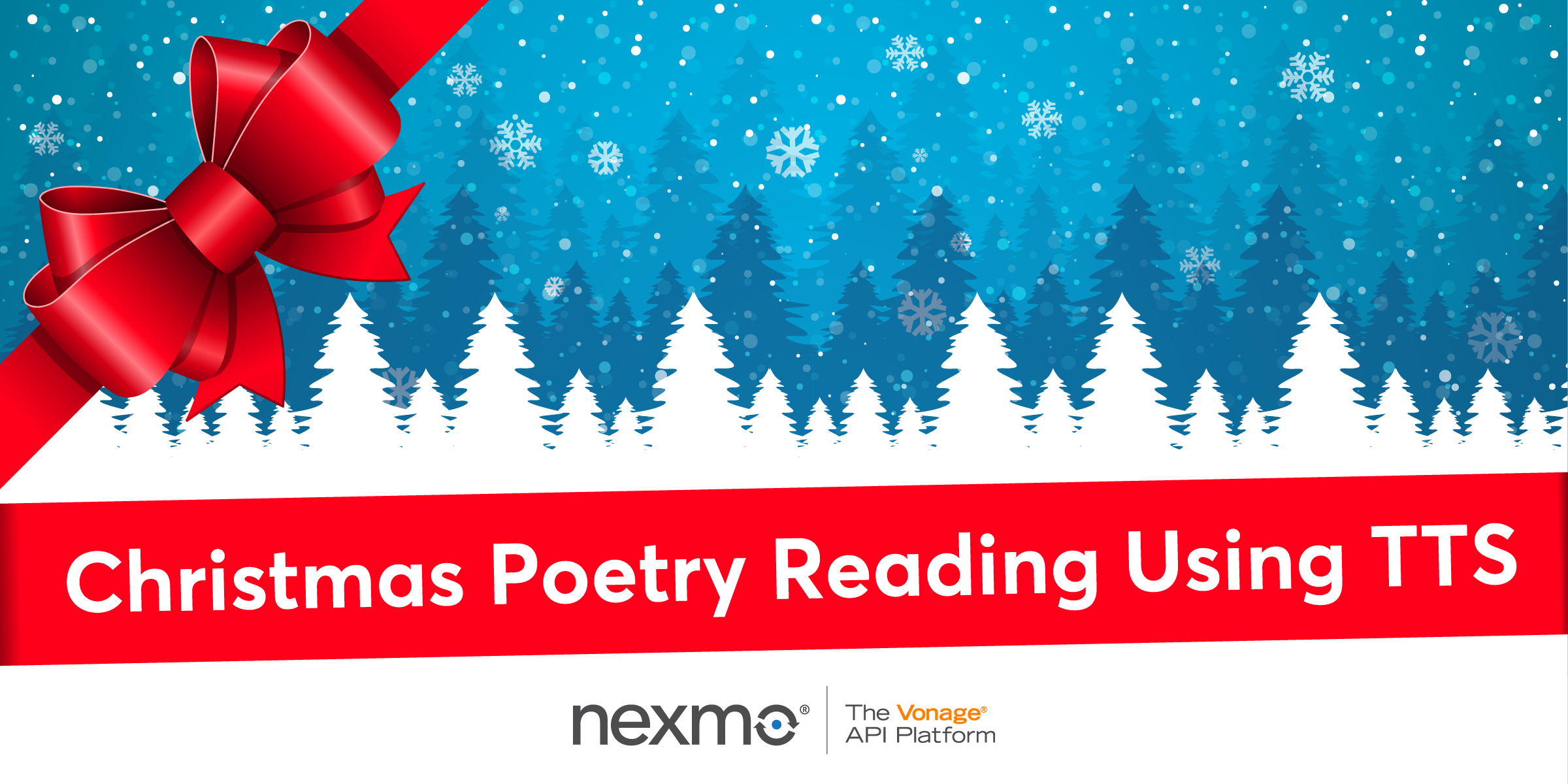 Christmas Poetry Reading Using Text-To-Speech and SSML