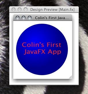 My First JavaFX App
