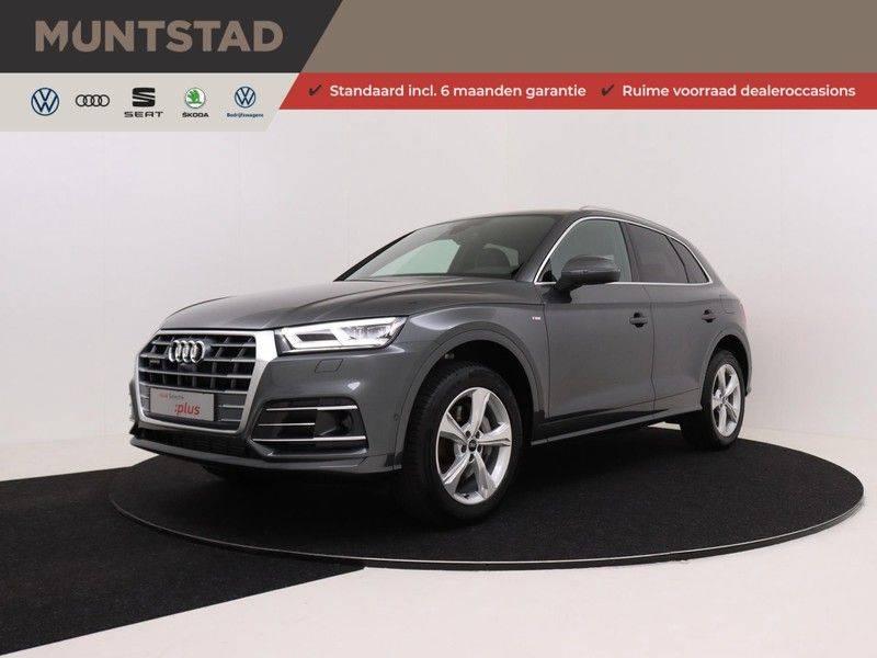Audi Q5 50 TFSI e 299 pk quattro S edition   S-Line  Assistentiepakket City/Parking/Tour   360* Camera   Trekhaak wegklapbaar   Elektrisch verstelbare/verwambare voorstoelen   Adaptive Cruise Control   Verlengde fabrieksgarantie afbeelding 1