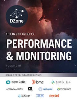 DZone Performance and monitoring Guide