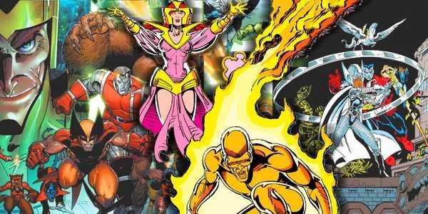 X-Men Guerras Asgardianas de Chris Claremont e Paul Smith