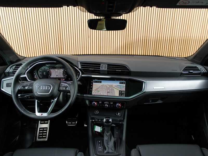 """Audi Q3 45 TFSI e S Edition 20"""", B&O, PANO, LED, B&O, S-LINE afbeelding 24"""