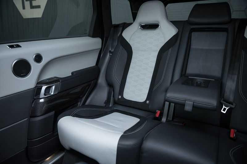 "Land Rover Range Rover Sport P575 SVR Carbon SVR motorkap + Drive Pro Pack + Panoramadak + 22"" + Stoelkoeling + Head-Up + Stuurwielverwarming + Carbon interieur afbeelding 16"