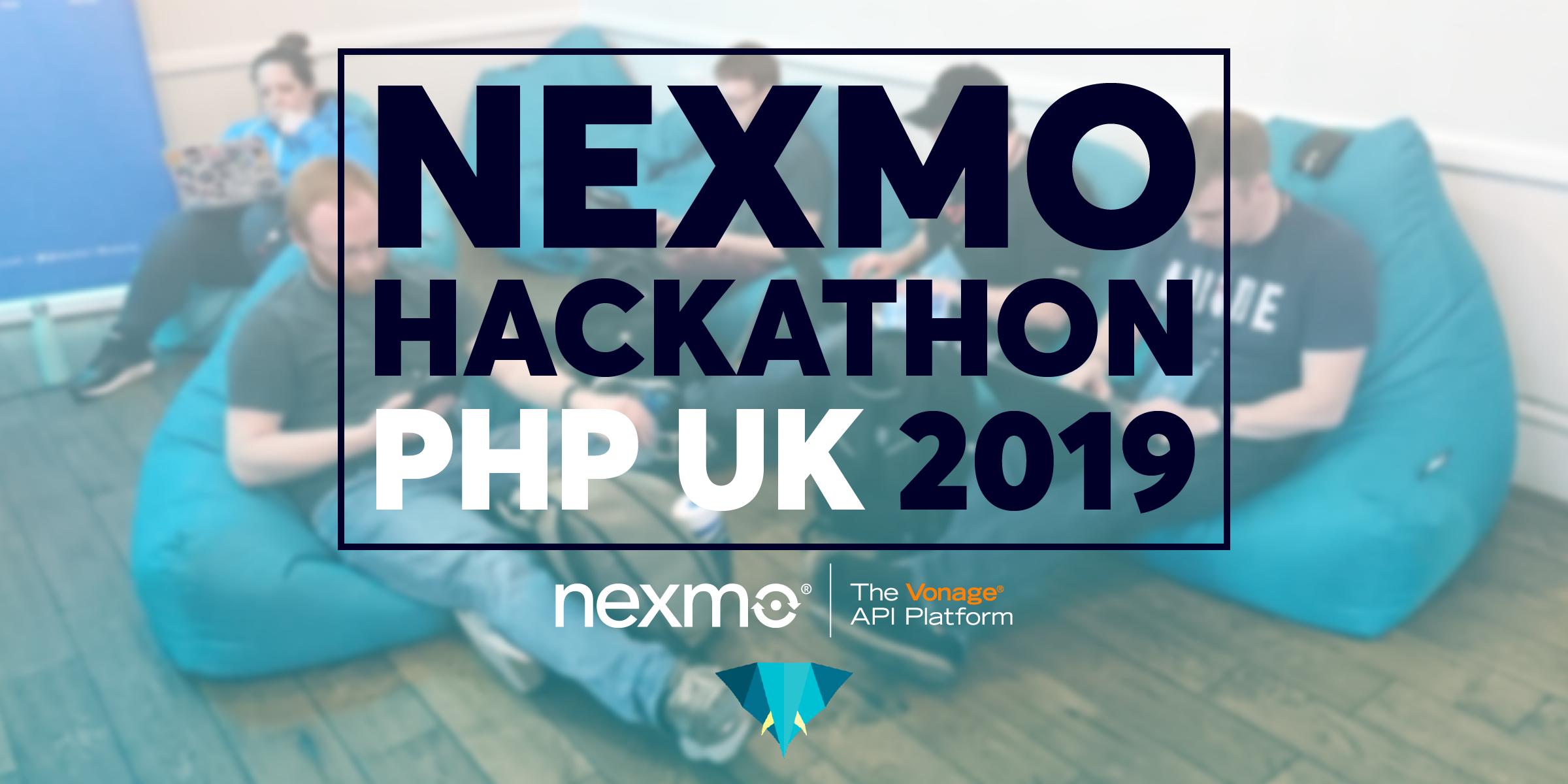 Nexmo Hackathon at PHP UK 2019