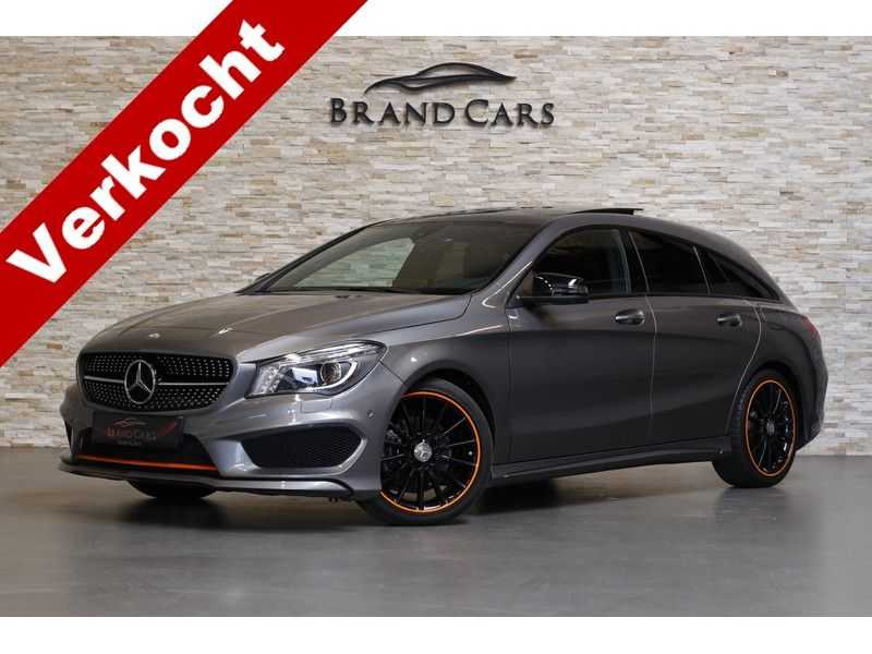 Mercedes-Benz CLA-Klasse Shooting Brake 200 OrangeArt Edition | VERKOCHT! | | Panoramadak | Memory stoelen | AMG Pakket | Night Pakket | Achteruitrijcamera | afbeelding 1