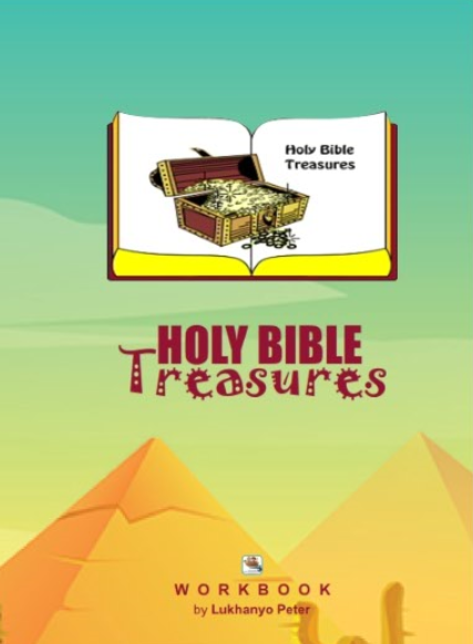 book cover: Holy Bible Treasures