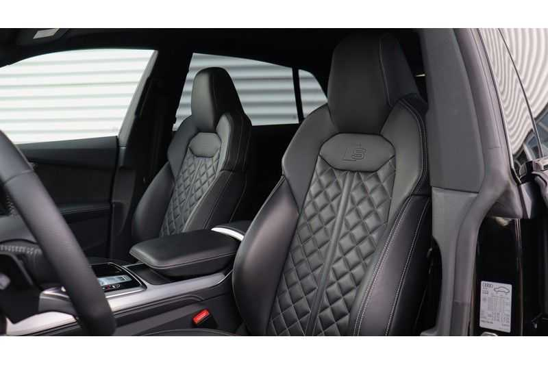 Audi Q8 55 TFSI quattro S-Line, Panoramadak, B&O, Massage, Ruitstiksel, Trekhaak afbeelding 21