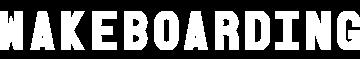 Wakeboarding Magazine Logo