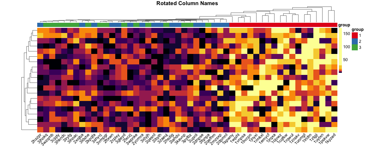 Make heatmaps in R with pheatmap - Kamil Slowikowski
