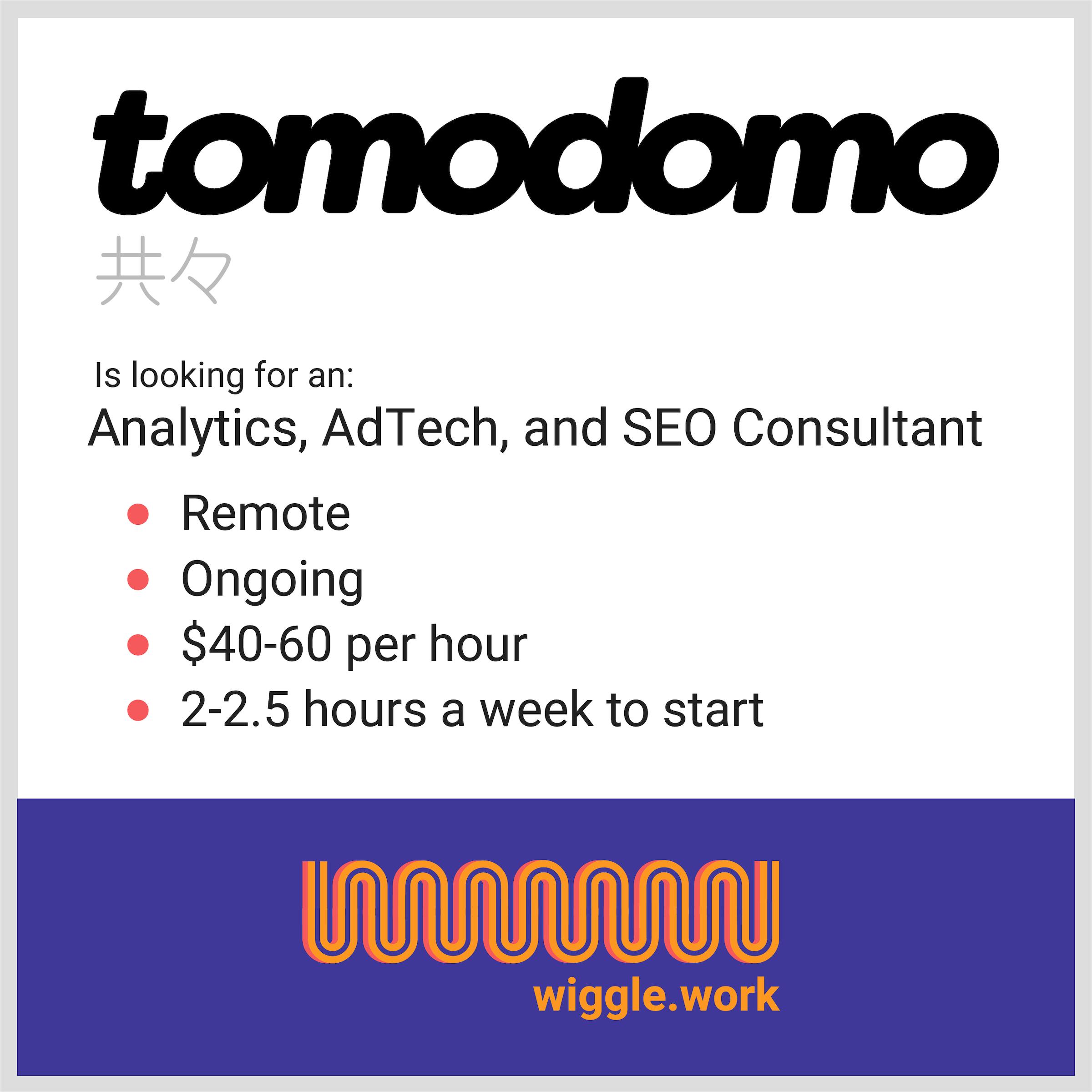 A job ad