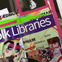 A zine made by young people for Suffolk Libraries arts