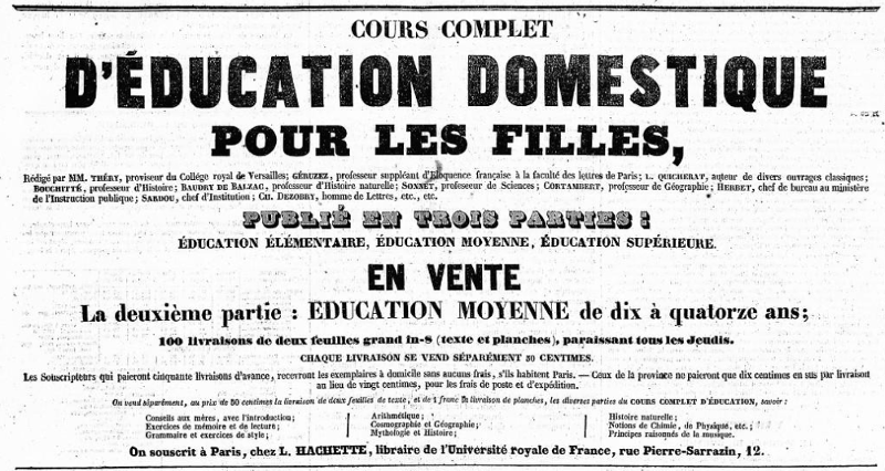 First La Presse advertising