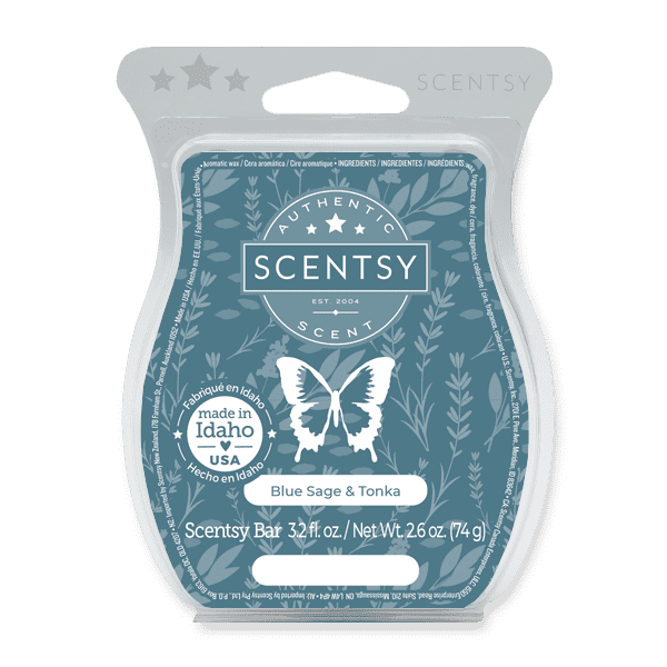 Blue Sage & Tonka Scentsy Bar