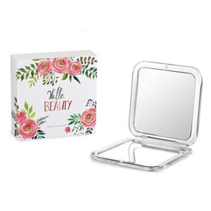 Jerrybox Double Sided travel makeup Mirror