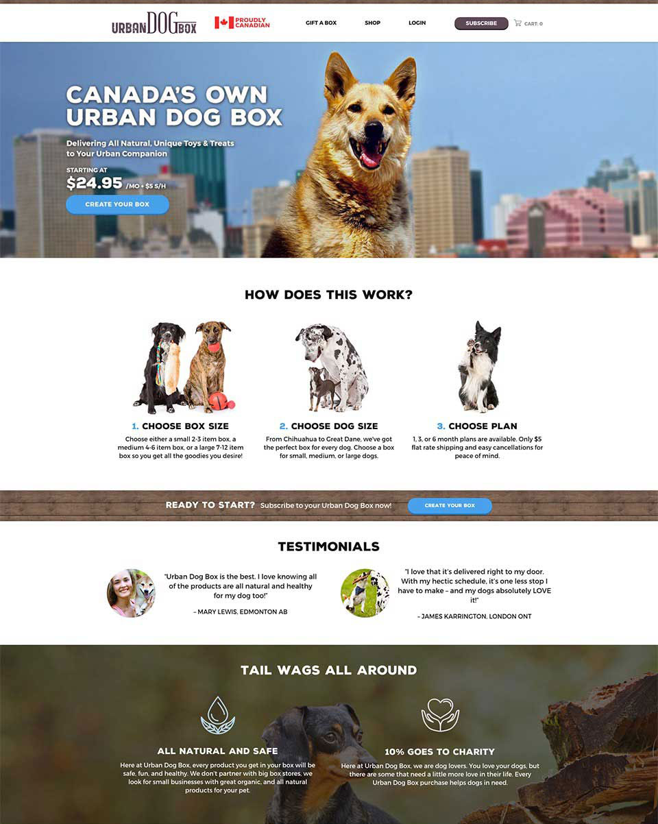 Urban Dog Box