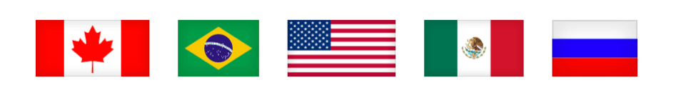 Exemplo das bandeirinhas