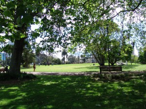 Albert Park, outside The University of Auckland