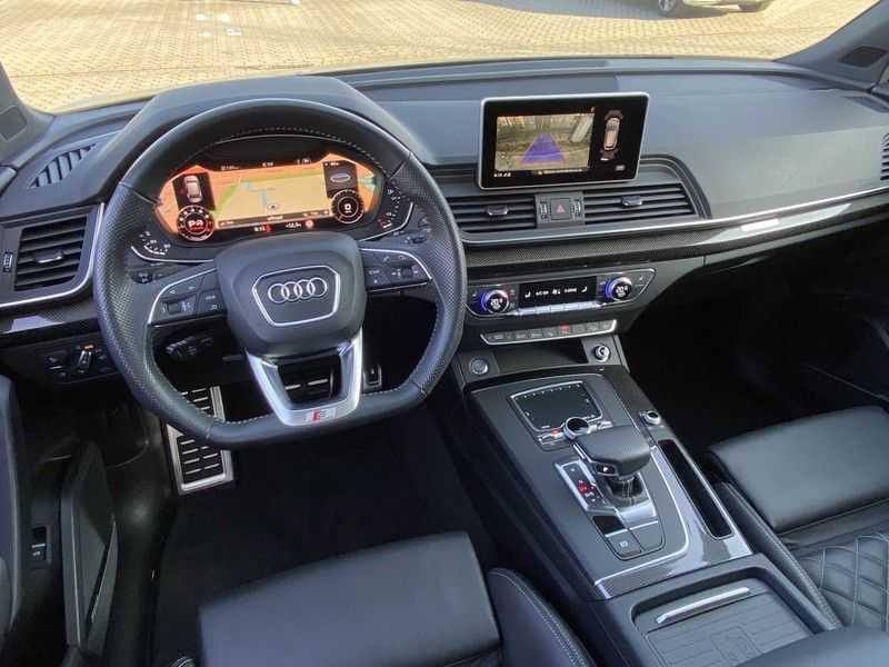 Audi Q5 2.0TFSI 252pk Quattro Black Optic Alle Opties! Lucht Tr.Haak Ruitleder Carbon Matrix Pano 20-Inch afbeelding 16