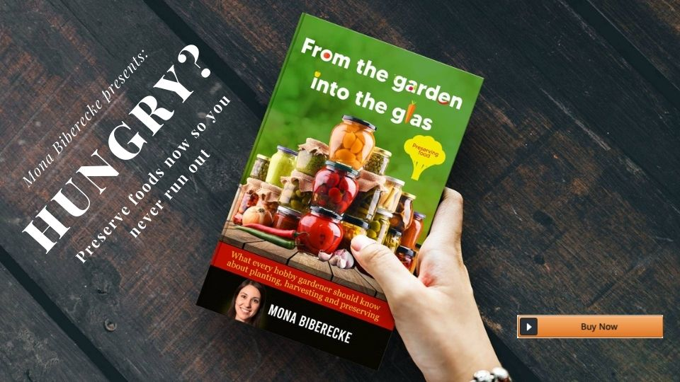 Hungry? Don't want to go outside? Stack up your preserved food shelf with this great book on preserving food from your own garden.