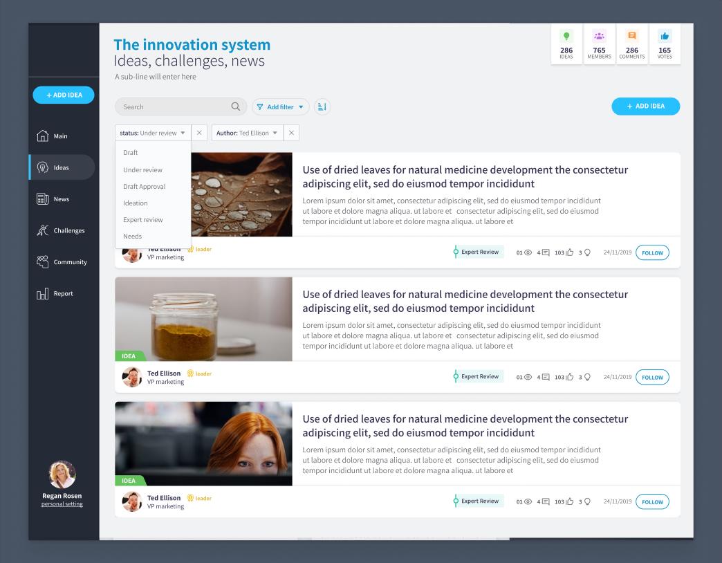 republish App Screens