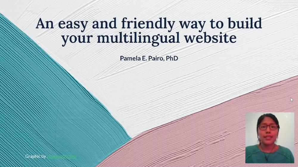 An easy and friendly way to build your multilingual website