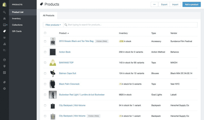 Preview Shopify 3