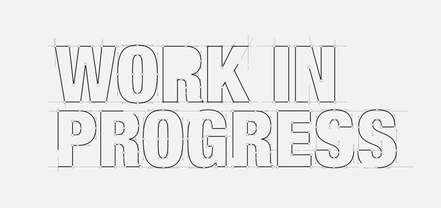 Even geduld: Werk In Uitvoering