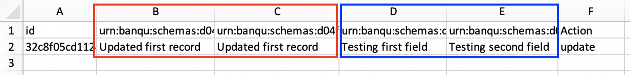 Highlighted cells in Excel