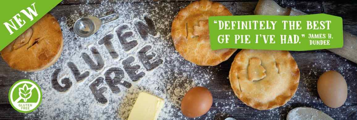 Try our brand new gluten free range