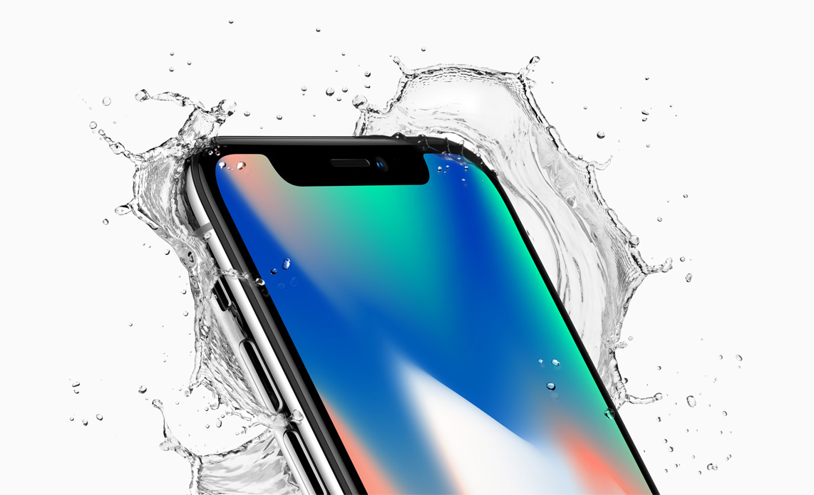 iPhone X splash