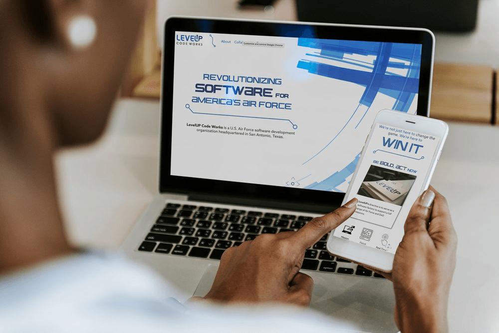LevelUp Website