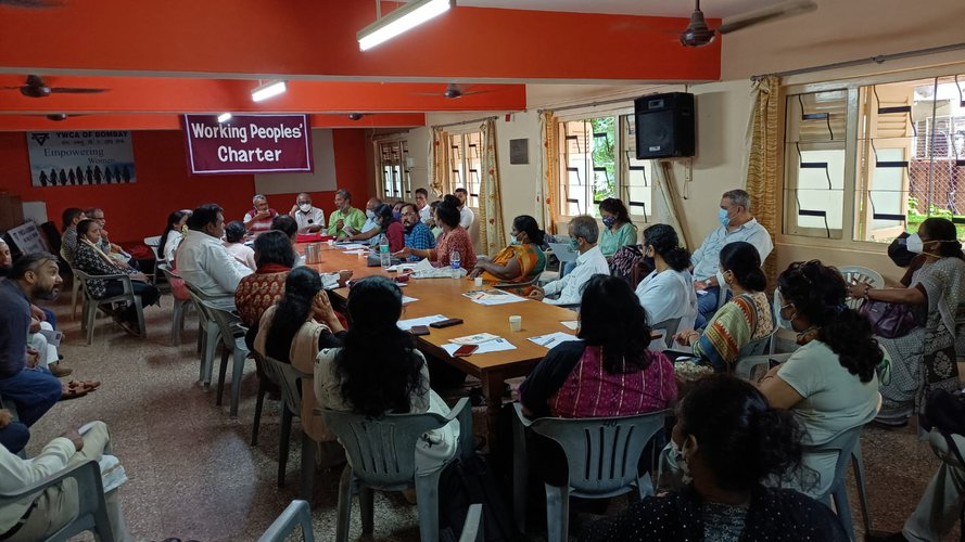 WPC HOLDS MAHARASHTRA-WIDE MEETING - RAGPICKERS, TRANS, SEX WORKERS AND FISHERFOLK PARTICIPATE