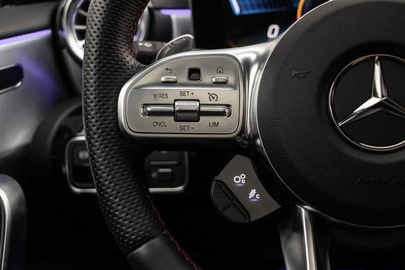 "Mercedes-Benz A-Klasse Limousine A35 AMG 306pk 4Matic Panoramadak Nightpakket Schaalstoelen Multibeam Head-Up Widescreen Burmester AmbientLight SuperSportStuur ComandOnline Full-Led 19"" Parktronic 360Camera Pdc afbeelding 21"