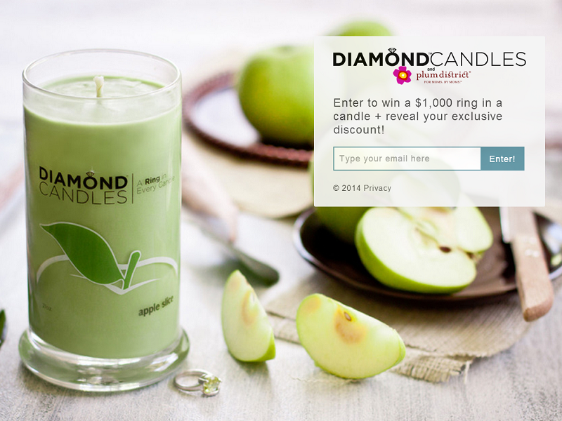 Diamond Candles & Plum District - Enter to win a $1,000 ring in a candle! - fun_diamondcandles_com_plum-district-mothers-day