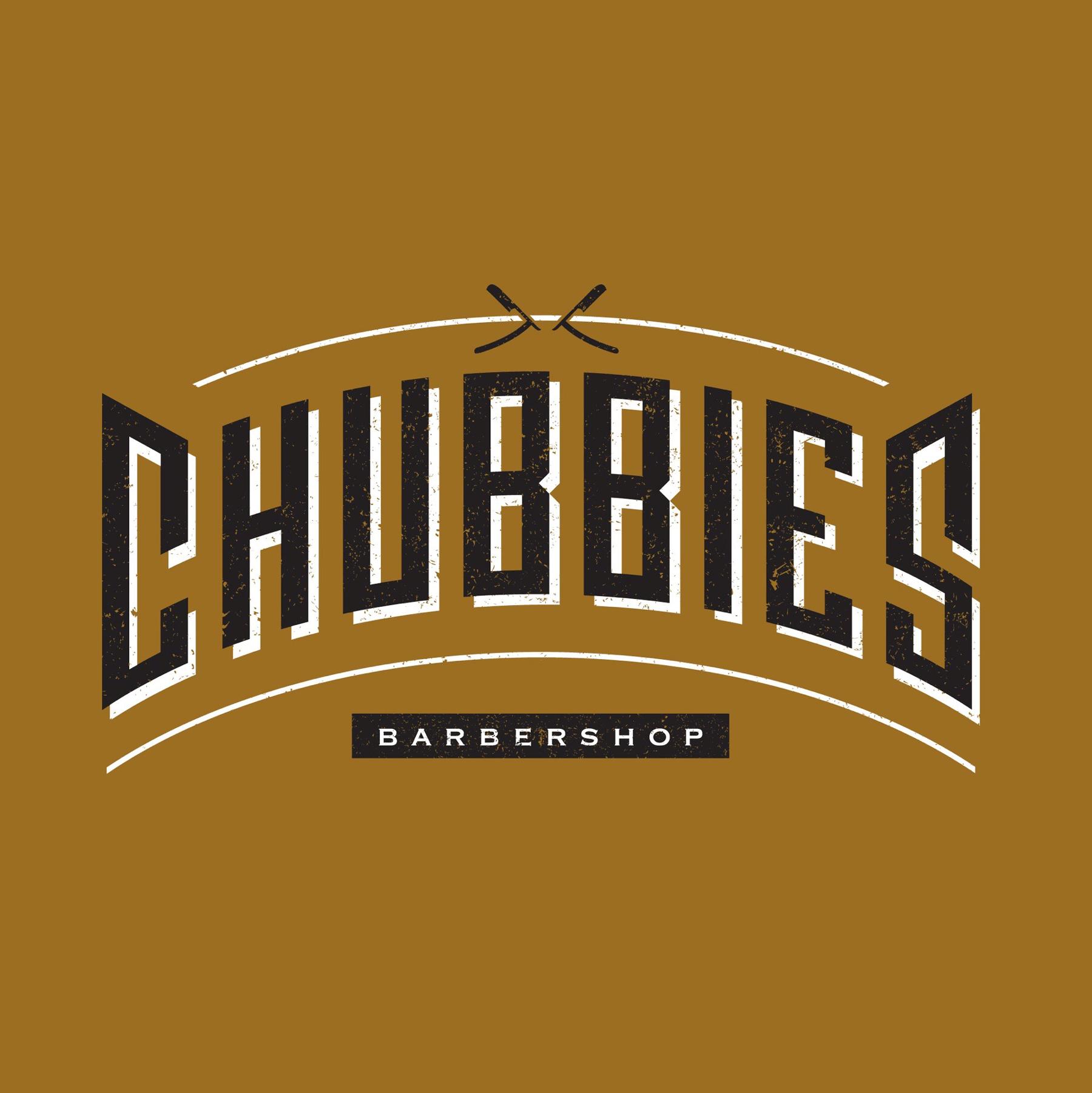 Chubbie's Barbershop logo