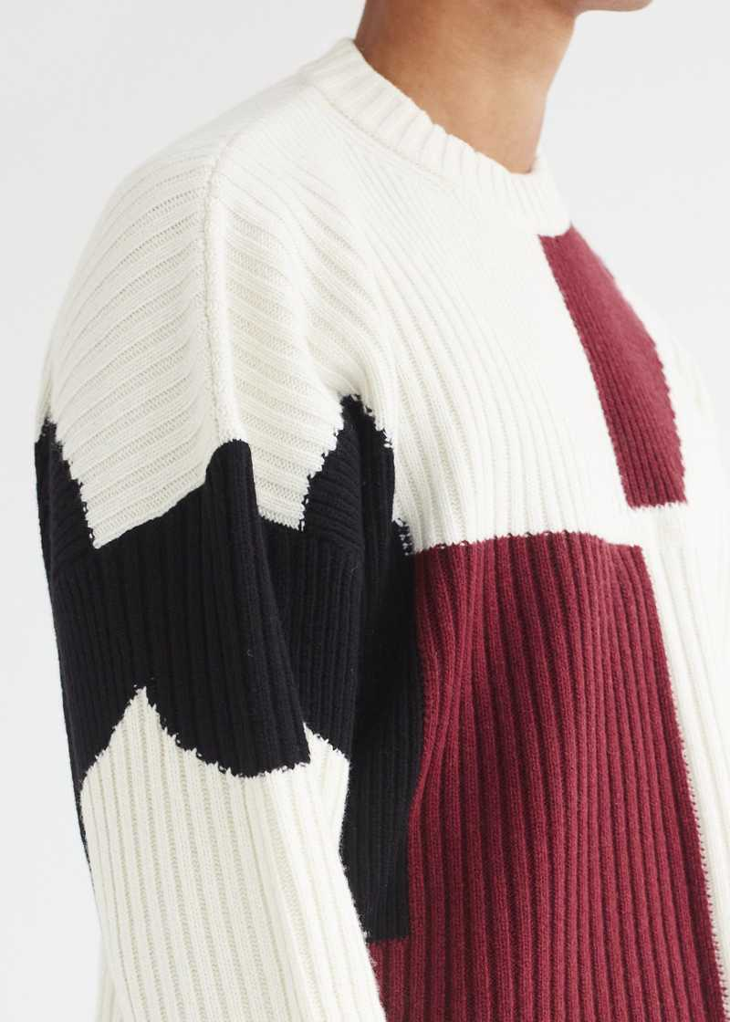 Mies Jumper Off-white detail