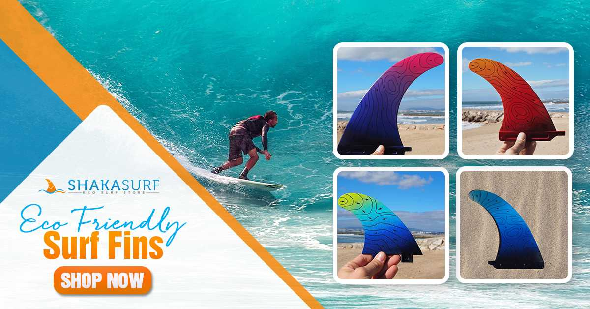 eco friendly surf fins banner