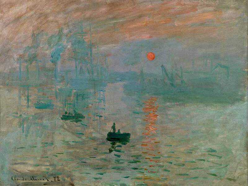 Monet's Impression Sunrise was lambasted at the first impressionist exhibition.