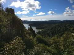 Cosseys Reservoir from the lookout