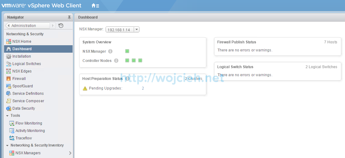 NSX Upgrade - step by step - 7