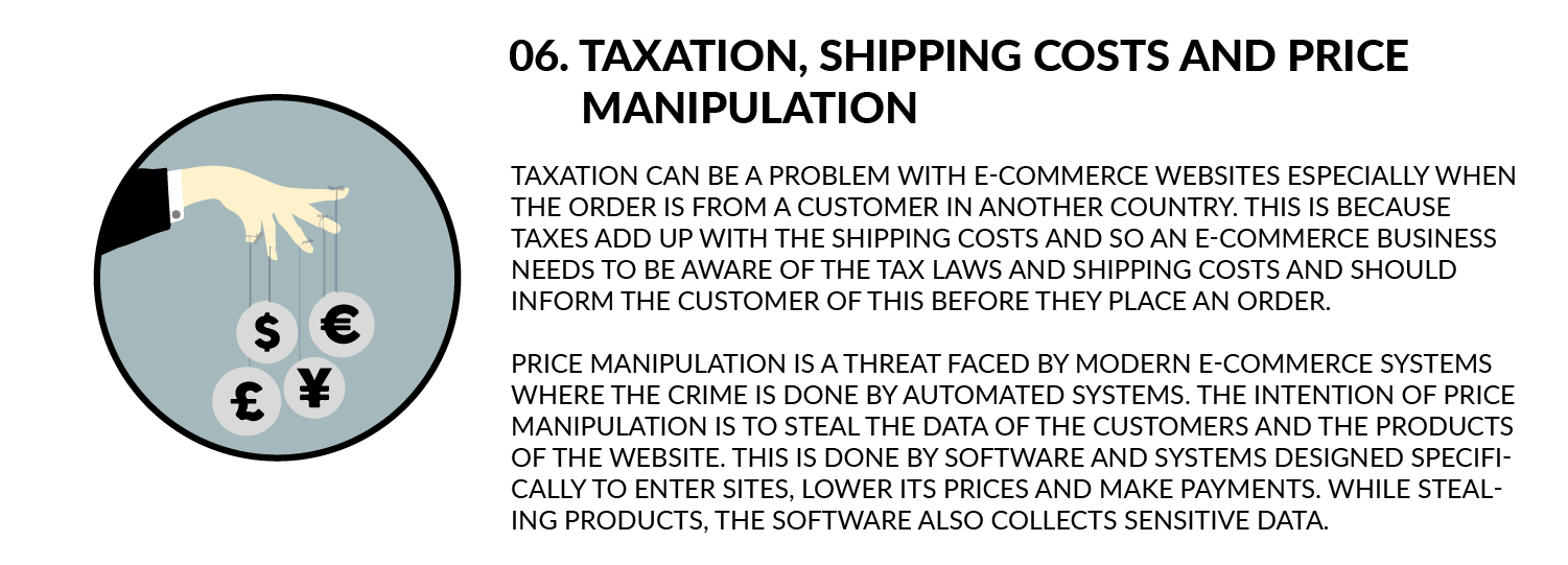 Taxation, Shipping Cost and Price Manipulation